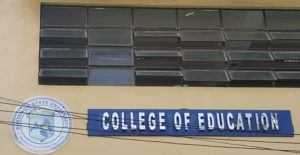 College of Education Building facade IPS