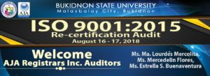 ISO 9001:2015 Re-certification Audit