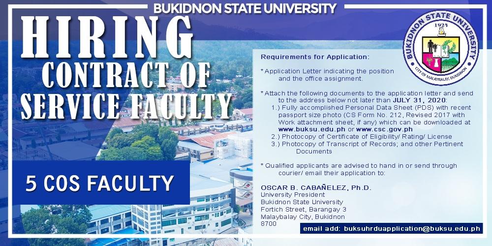 20200730 Main Campus Faculty